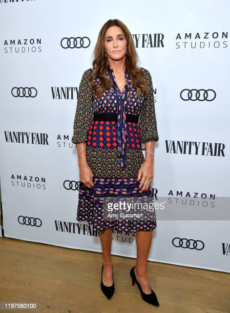 Caitlyn Jenner attends The Vanity Fair x Amazon Studios 2020 Awards Season Celebration at San Vicente Bungalows on January 04 2020 in West Hollywood...