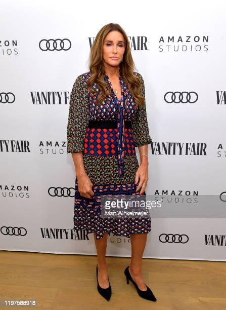 Caitlyn Jenner attends Vanity Fair Amazon Studios and Audi Celebrate The 2020 Awards Season at San Vicente Bungalows on January 04 2020 in West...