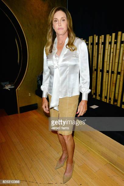 Caitlyn Jenner attends WORLDZ Cultural Marketing Summit at Hollywood and Highland on August 1 2017 in Los Angeles California
