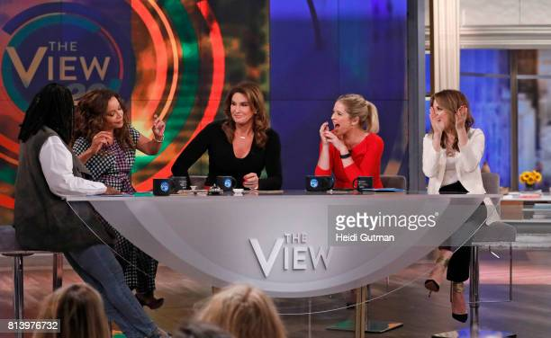THE VIEW Caitlyn Jenner guest cohosts today Thursday July 13 2017 on Walt Disney Television via Getty Images's The View The View airs MondayFriday on...