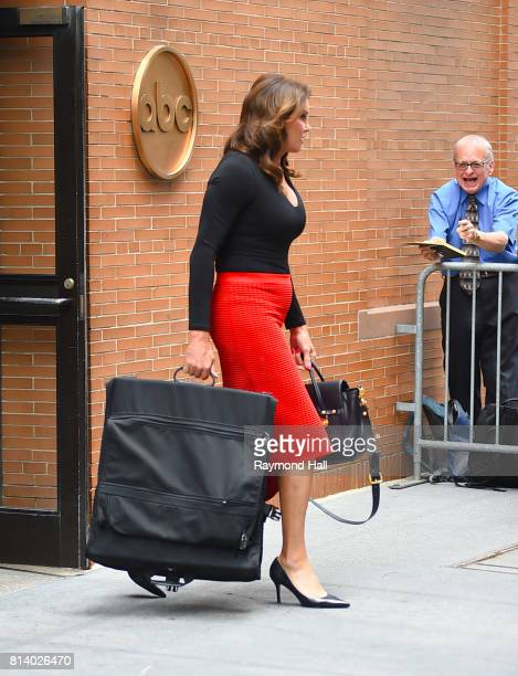 Caitlyn Jenner is seen leaving ABC Studios after cohosting 'The View' on July 13 2017 in New York City