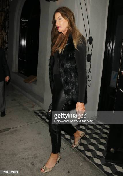 Caitlyn Jenner is seen on December 11 2017 in Los Angeles CA