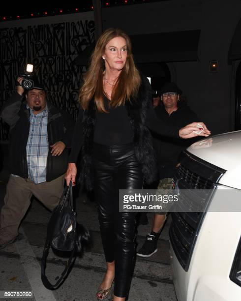 Caitlyn Jenner is seen on December 11 2017 in Los Angeles California