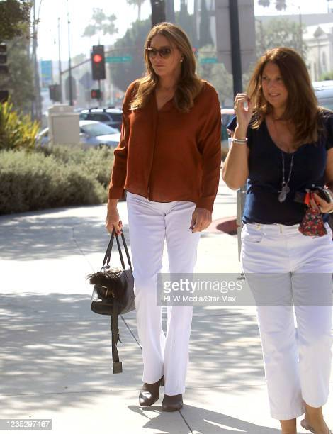 Caitlyn Jenner is seen on September 14, 2021 in Los Angeles, California.