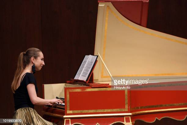 Caitlyn Koester on harpsichord plays the music of Francois Couperin in the Juilliard School's Historical Performance L'Art de toucher le clavecin at...
