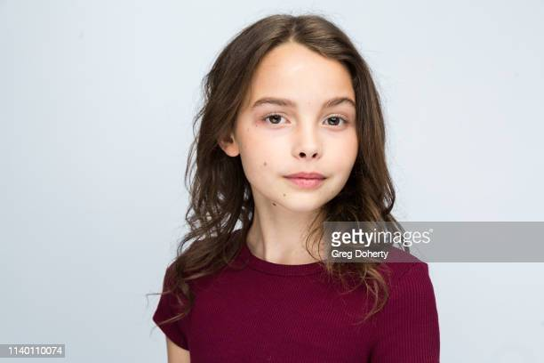Caitlyn Meaney attends the Kids Against Animal Cruelty visit to TAP The Artists Project on April 28 2019 in Los Angeles California
