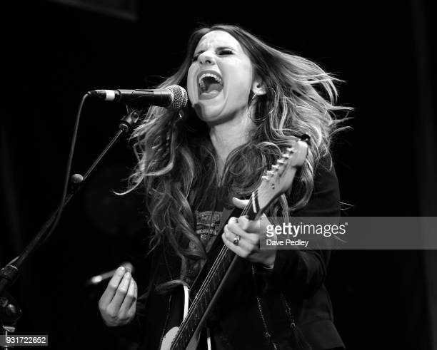 Caitlyn Smith performs onstage at the Pandora showcase during SXSW at The Gatsby on March 13 2018 in Austin Texas