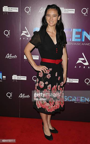 Caitlyn Yeo arrives at the 2013 Screen Music Awards at the State Theatre on December 9 2013 in Sydney Australia