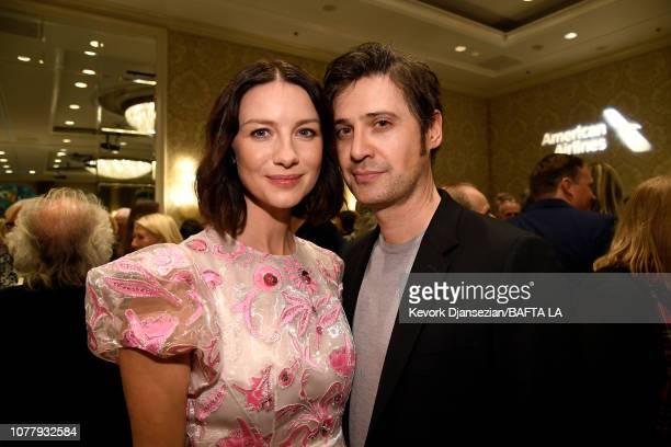 Caitriona Balfe and Tony McGill attends The BAFTA Los Angeles Tea Party at Four Seasons Hotel Los Angeles at Beverly Hills on January 5 2019 in Los...