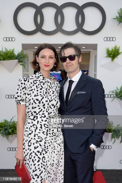 Caitriona Balfe and Tony McGill Audi guests at Henley Festival Oxfordshire Friday 12 July in HenleyonThames England