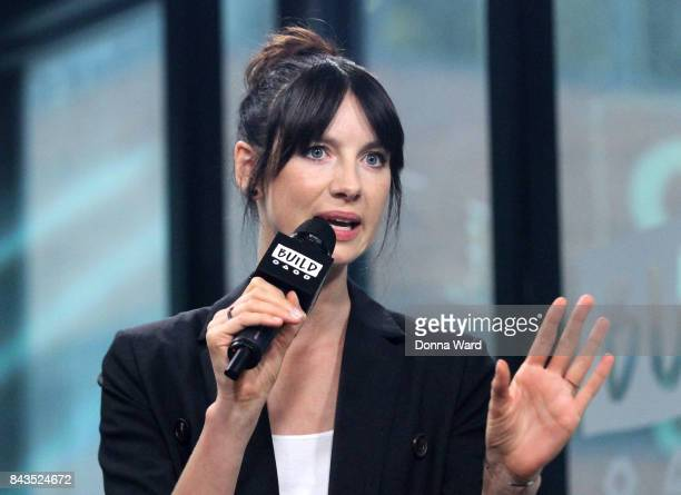 Caitriona Balfe appears to promote Outlander during the BUILD Series at Build Studio on September 6 2017 in New York City