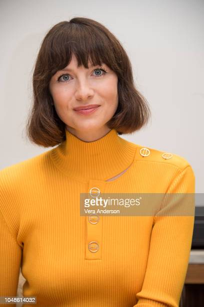 Caitriona Balfe at the Outlander Press Conference at the Four Seasons Hotel on October 8 2018 in Beverly Hills California