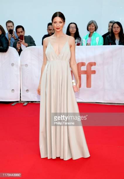 "Caitriona Balfe attend the ""Ford v Ferrari"" premiere during the 2019 Toronto International Film Festival at Roy Thomson Hall on September 09, 2019 in..."