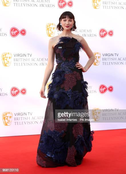 Caitriona Balfe attending the Virgin TV British Academy Television Awards 2018 held at the Royal Festival Hall Southbank Centre London