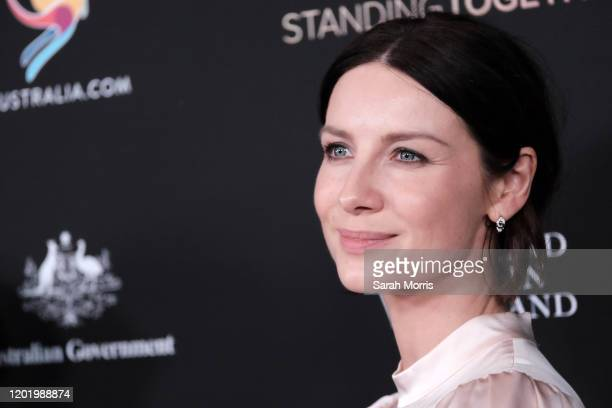 Caitriona Balfe attends G'Day USA 2020 at Beverly Wilshire, A Four Seasons Hotel on January 25, 2020 in Beverly Hills, California.
