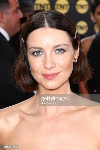 Caitriona Balfe attends Moet Chandon at The 76th Annual Golden Globe Awards at The Beverly Hilton Hotel on January 6 2019 in Beverly Hills California