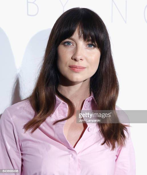 Caitriona Balfe attends Noon By Noor September 2017 New York Fashion Week The Shows at Gallery 3 Skylight Clarkson Sq on September 7 2017 in New York...