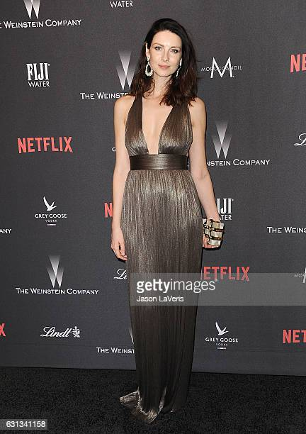 Caitriona Balfe attends the 2017 Weinstein Company and Netflix Golden Globes after party on January 8 2017 in Los Angeles California