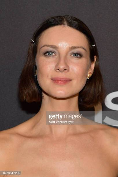 Caitriona Balfe attends the 2019 InStyle and Warner Bros 76th Annual Golden Globe Awards PostParty at The Beverly Hilton Hotel on January 6 2019 in...