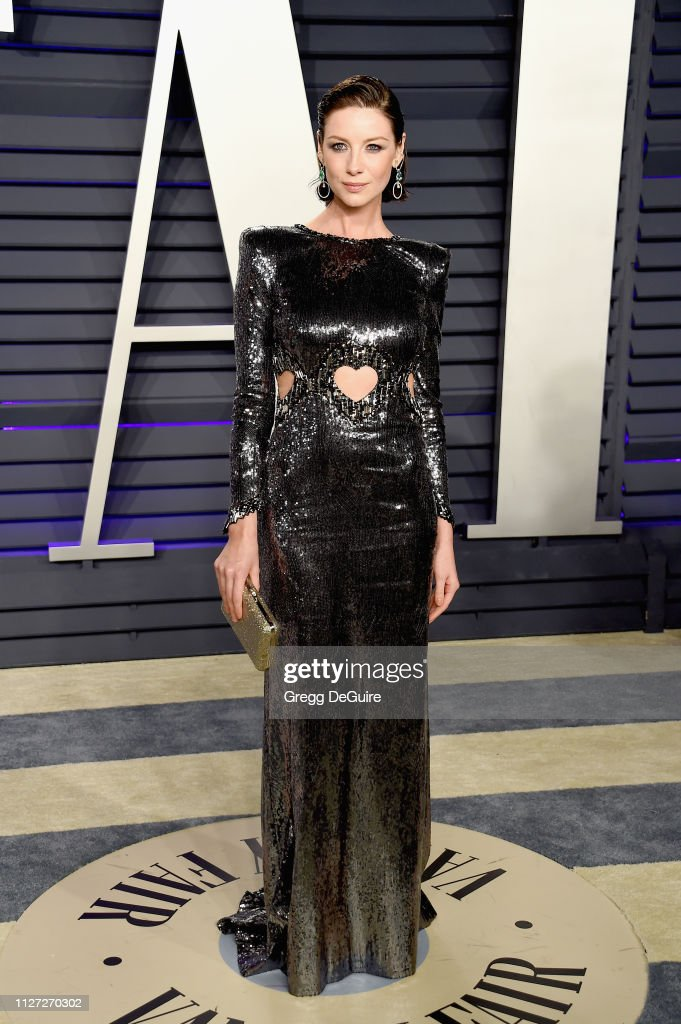 Caitriona Balfe Attends The 2019 Vanity Fair Oscar Party Hosted By Foto Jornalistica Getty Images