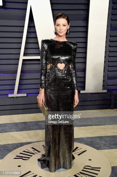 Caitriona Balfe attends the 2019 Vanity Fair Oscar Party hosted by Radhika Jones at Wallis Annenberg Center for the Performing Arts on February 24,...