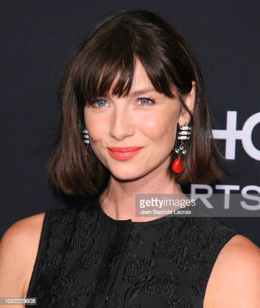 Caitriona Balfe attends the 25th Annual ELLE Women in Hollywood Celebration at Four Seasons Hotel Los Angeles at Beverly Hills on October 15 2018 in...