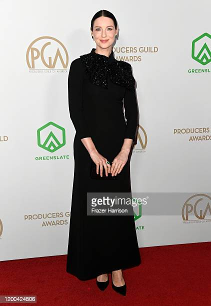 Caitriona Balfe attends the 31st Annual Producers Guild Awards at Hollywood Palladium on January 18, 2020 in Los Angeles, California.
