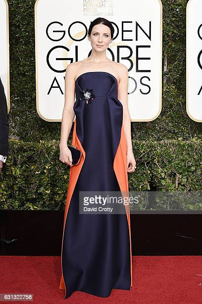 Caitriona Balfe attends the 74th Annual Golden Globe Awards Arrivals at The Beverly Hilton Hotel on January 8 2017 in Beverly Hills California