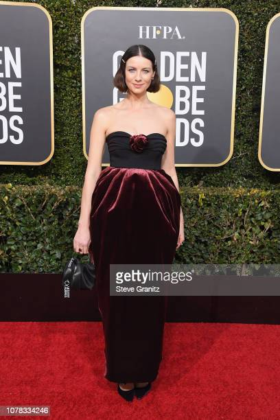 Caitriona Balfe attends the 76th Annual Golden Globe Awards at The Beverly Hilton Hotel on January 6, 2019 in Beverly Hills, California.