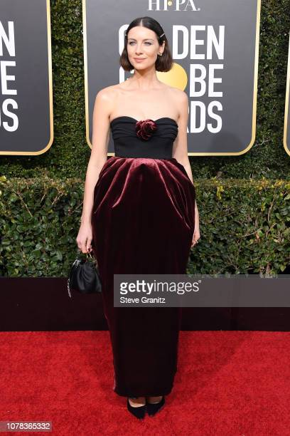 Caitriona Balfe attends the 76th Annual Golden Globe Awards at The Beverly Hilton Hotel on January 6 2019 in Beverly Hills California