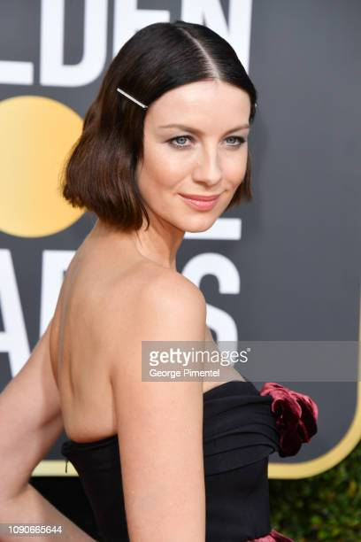 Caitriona Balfe attends the 76th Annual Golden Globe Awards held at The Beverly Hilton Hotel on January 06 2019 in Beverly Hills California