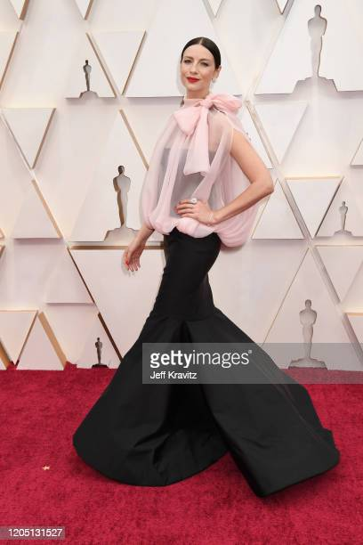 Caitriona Balfe attends the 92nd Annual Academy Awards at Hollywood and Highland on February 09 2020 in Hollywood California