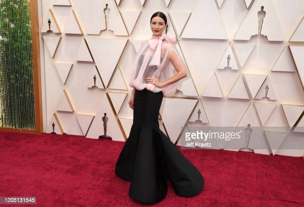 Caitriona Balfe attends the 92nd Annual Academy Awards at Hollywood and Highland on February 09, 2020 in Hollywood, California.
