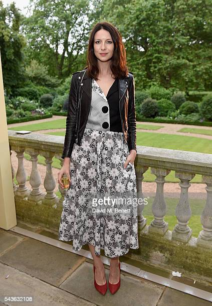 Caitriona Balfe attends the Creatures of the Wind Resort 2017 collection and runway show presented by Farfetch at Spencer House on June 29 2016 in...