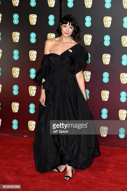 Caitriona Balfe attends the EE British Academy Film Awards held at Royal Albert Hall on February 18 2018 in London England
