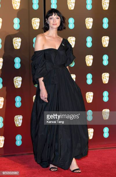Caitriona Balfe attends the EE British Academy Film Awards held at the Royal Albert Hall on February 18 2018 in London England