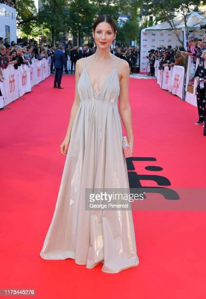 Caitriona Balfe attends the Ford v Ferrari premiere during the 2019 Toronto International Film Festival at Roy Thomson Hall on September 09 2019 in...