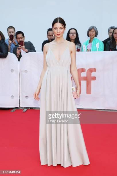 "Caitriona Balfe attends the ""Ford v Ferrari"" premiere during the 2019 Toronto International Film Festival at Roy Thomson Hall on September 09, 2019..."