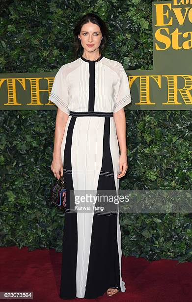 Caitriona Balfe attends The London Evening Standard Theatre Awards at The Old Vic Theatre on November 13 2016 in London England
