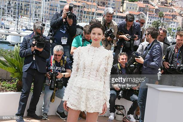 Caitriona Balfe attends the Money Monster Photocall during the 69th annual Cannes Film Festival on May 12 2016 in Cannes France