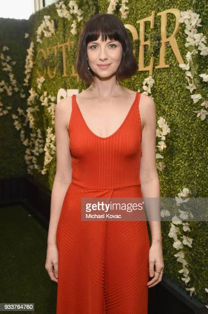 Caitriona Balfe attends the STARZ Outlander FYC Event at Linwood Dunn Theater on March 18 2018 in Los Angeles California