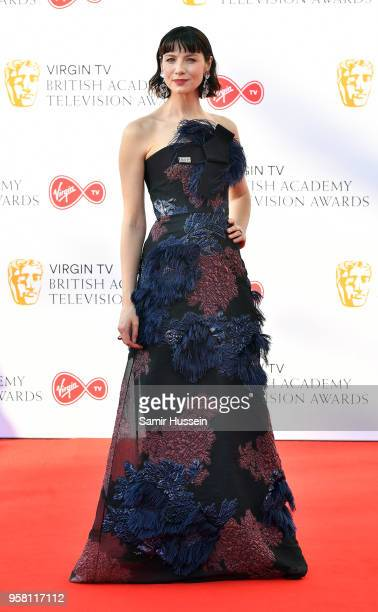 Caitriona Balfe attends the Virgin TV British Academy Television Awards at The Royal Festival Hall on May 13 2018 in London England