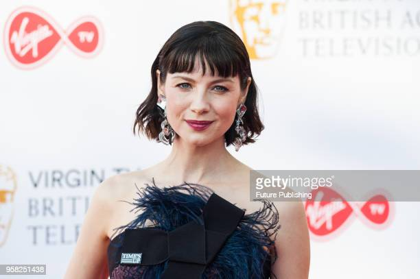 Caitriona Balfe attends the Virgin TV British Academy Television Awards ceremony at the Royal Festival Hall on May 13 2018 in London United Kingdom