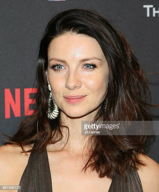 Caitriona Balfe attends The Weinstein Company and Netflix Golden Globe Party presented with FIJI Water Grey Goose Vodka Lindt Chocolate and Moroccan...