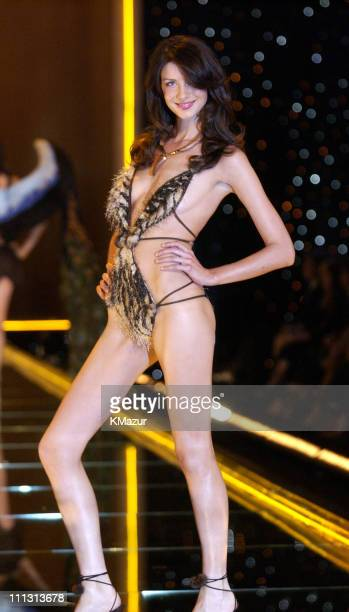 Caitriona Balfe during 8th Annual Victoria's Secret Fashion Show Runway at The New York State Armory in New York City New York United States