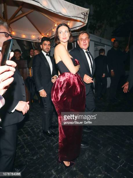 Caitriona Balfe is seen on January 06 2019 in Los Angeles California