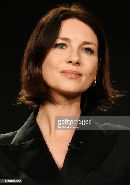 Caitriona Balfe of 'Outlander' speaks onstage during STARZ TCA Winter 2020 on January 14, 2020 in Pasadena, California.