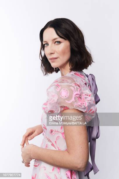 Caitriona Balfe poses for a portrait at The BAFTA Tea Party on January 5, 2019 in Beverly Hills, California.