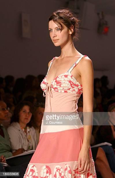 Caitriona Balfe wearing BCBG Max Azria Spring 2004