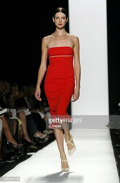Caitriona Balfe wearing Narciso Rodriguez Spring 2004